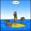 Die Insel der Währung zur Geldschöpfung